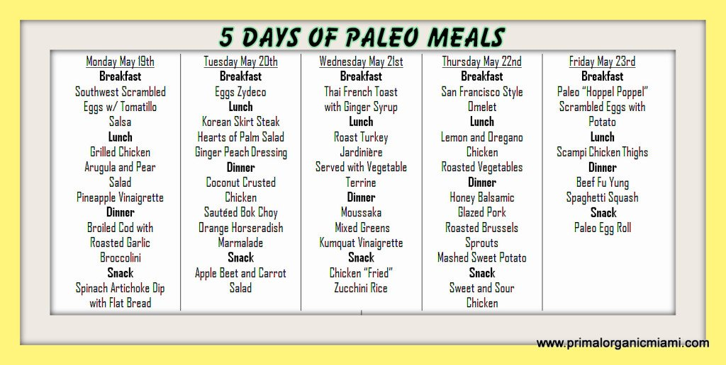 Order Primal Organic paleo food delivery call 305-771-5352.