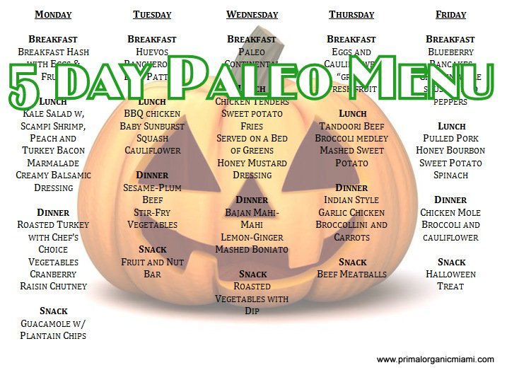 Order healthy paleo meal delivery from Primal Organic