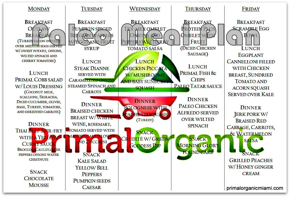 Order Primal Organic meal delivery today!