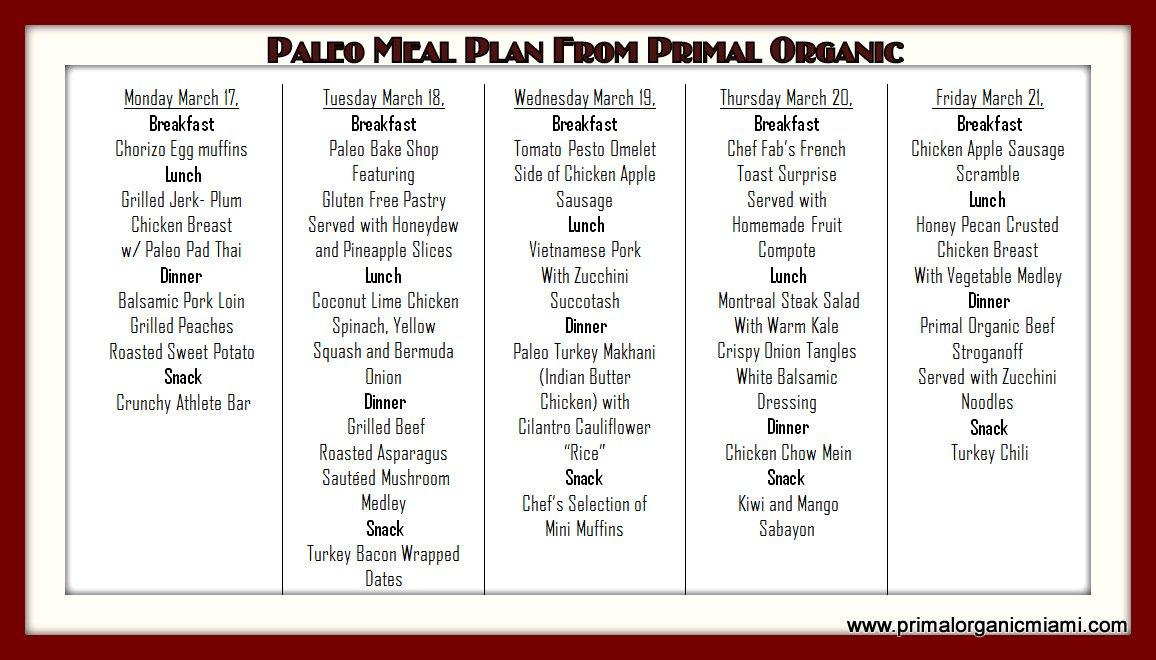 Meal Plan Delivered Gluten Free Meal Plan